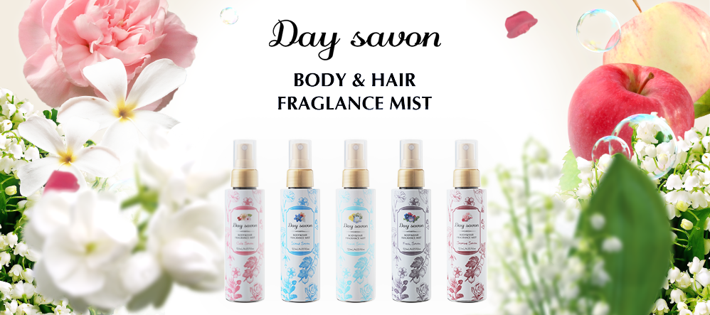 Day Savon BODY HAIR FRAGLANCE MIST